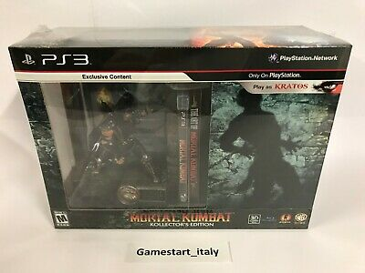 Mortal Kombat Kollector's Collector's Edition - Ps3 - New Sealed Ntsc Version