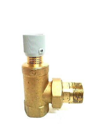 New Caleffi Differential By-Pass Valve 519504