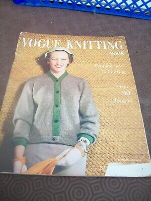 vintage 1954 vogue knitting book vol 9 no 46 over 30 designs