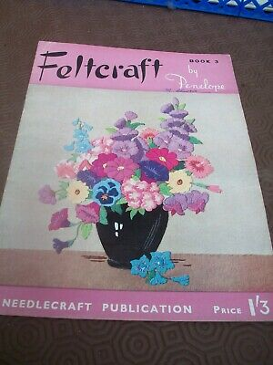 vintage feltcraft magazine book 3 by penelope the book of hows series