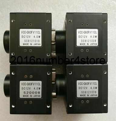 1PC Used VCC-G60FV11CL CIS industrial cameras tested