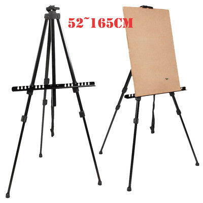 Folding Artist w/Boards Telescopic Painting Easel Tripod Display Stand Art Metal