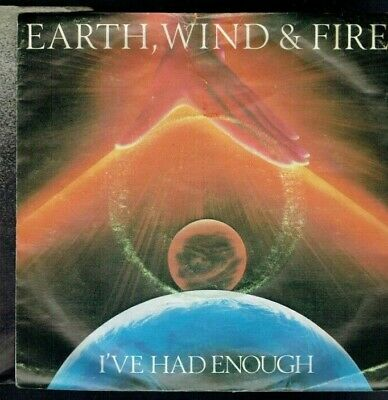 Earth Wind & Fire I've Had Enough Ps 45 1981