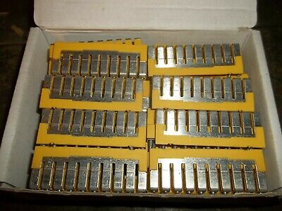 Lot Of 64 Allen Bradley 1492-Cjj5-10 Ser A Center Jumpers (Dr4A1)