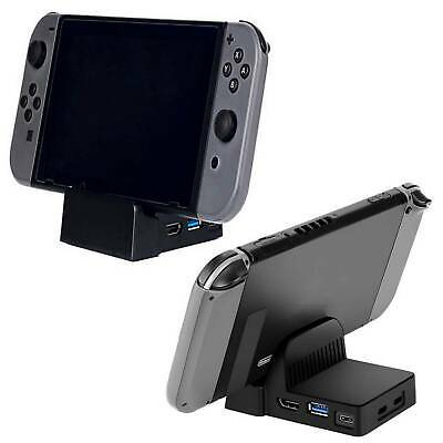 For Nintendo Switch Replacement Dock Docking Station Mount Cooling Base Durable~