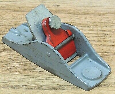 MILLERS FALLS No. 33 BLOCK PLANE-ANTIQUE HAND TOOL-STANLEY 101 SIZE
