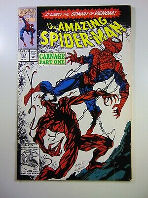 The Amazing Spider-man #361 1st Appearance of Carnage! VG/VG+ Condition!!