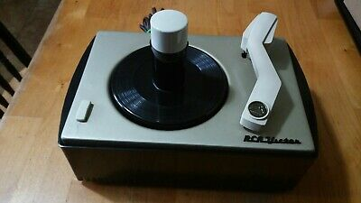 1950s RCA VICTOR 6JY-1A record player changer turntable 45rpm