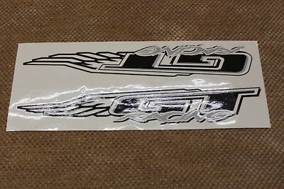 Reproduction GT Old School BMX Power Series Crank Decals Black Or White