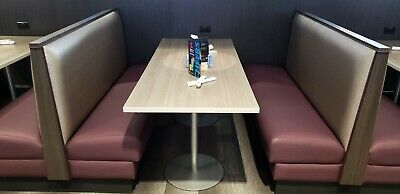 Commercial restaurant style booth seating. Excellent condition.