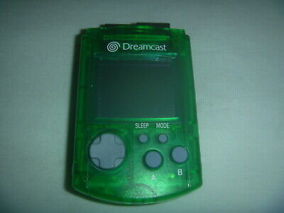 Official OEM Sega Dreamcast Visual Memory Unit VMU Memory Card Green HKT-7000