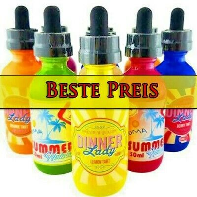 Dinner Lady Premium Liquid 50ml E-Zigarette ohne Nikotin