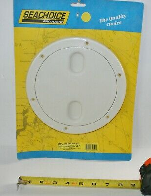 DECK PLATE PRY UP SEACHOICE ARTIC WHITE 39471 5-1//2-OD BOATINGMALL  BOAT