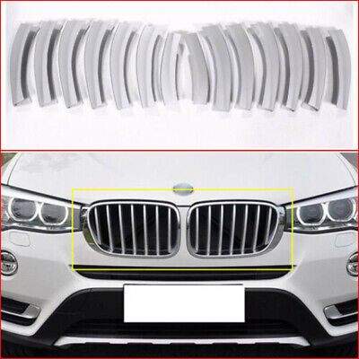 For BMW X3 F25 2011-2016 Chrome Side Door Body Decorator Molding Trim Cover 4X