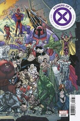 Powers Of X #6 Garron Connecting Variant Marvel Hickman The End 100919