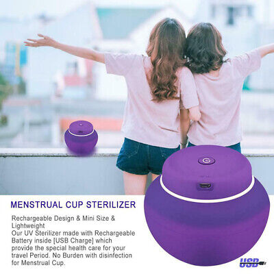 Physical Box Cleaner Sterilizer UV Menstrual Cup Disinfection Mini Multifunction