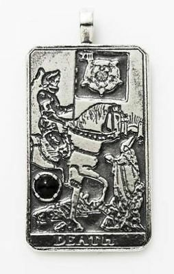 STRENGTH TAROT CARD Pendant  925 Sterling Silver with