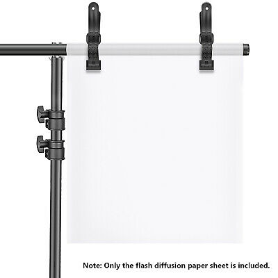 Neewer Diffusion Paper Sheet 11.8x15.4 inches/30x39 centimeters Light Diffuser