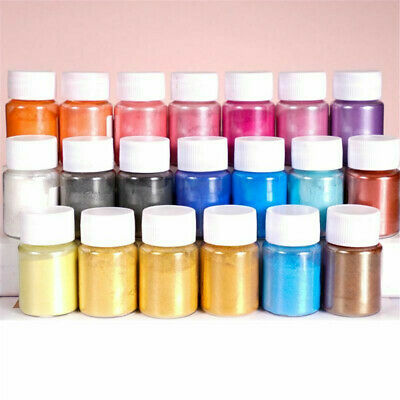 4X Pearl Pigment Powder for Epoxy Resin Floors Metallic Dye Ultra Mixed Color
