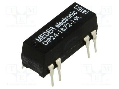 Dip051a7212d Reed-relè 5v = 1xein 500 OHM diodo in parallelo meder