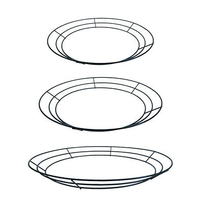 Solid Metal Wire Wreath Rings Wrapping Frames Christmas Wedding Decoration
