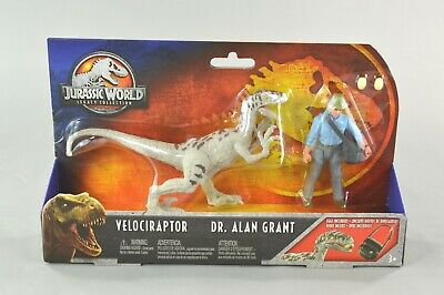 Jurassic World Legacy Collection Dr Alan Grant 2018 Mattel Figure New Sealed!
