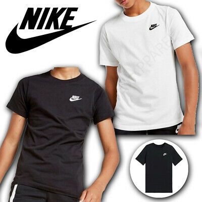 Nike Boys T Shirts Tops Short Sleeve Kids Tee Junior Age 8 9 10 11 12 13 14 Yrs