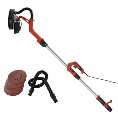 Extendable DryWall Ceiling Sander Disc PlasterBoard Telescopic 6 Variable speed