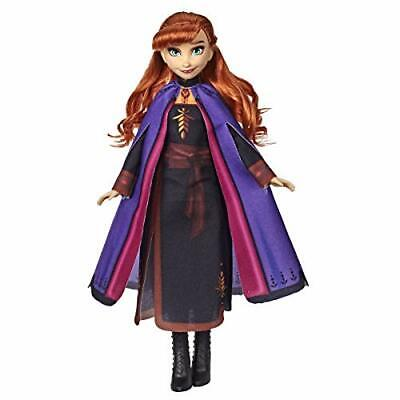 Disney Frozen 2 Anna Fashion Doll With Long Red Hair and Outfit Kid Toy Gift