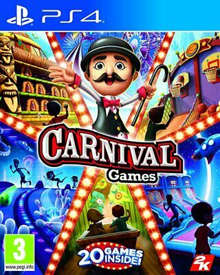 Carnival Games (PS4)  BRAND NEW AND SEALED - IN STOCK - QUICK DISPATCH