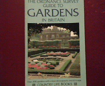 Ordnance Survey Guide to Gardens of Britain, , Used; Good Book