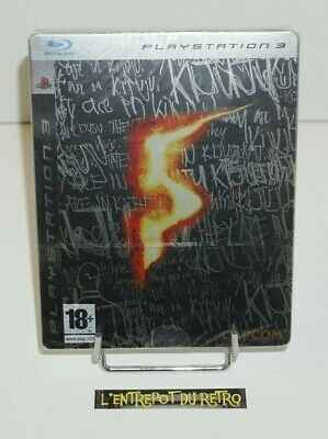 ++ jeu playstation 3 PS3 resident evil 5 edition collector steelbook NEUF ++