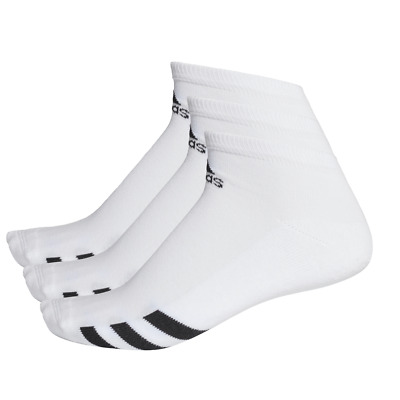 Adidas 2019 3-Pack Tobillo Hombre Sports Calcetines (Blanco)