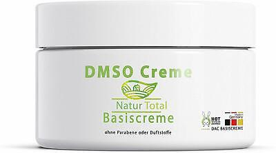 DMSO Creme - Dimethylsulfoxid 99,9% Reinheit - 150ml