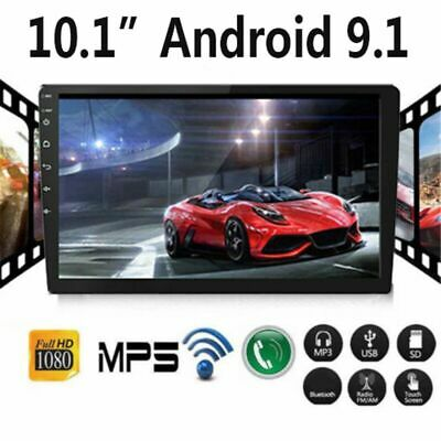 "Quad Core Android 9.1 WIFI 10.1"" 2DIN GPS DAB Car Radio Stereo Player"