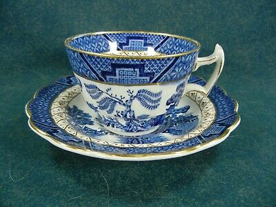 Booths Real Old Willow A8025 Cup and Saucer Set