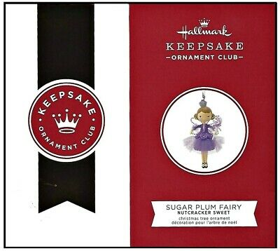 2019 Hallmark KOC Keepsake Ornament Club Exclusive Sugar Plum Fairy Ornament!