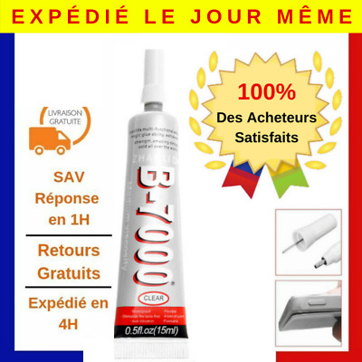 x3 / COLLE B7000 15ml ADHESIF CHÂSSIS VITRE TABLETTE SMARTPHONE / IPHONE SAMSUNG
