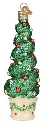 Holiday Topiary (48040) Old World Christmas Ornament