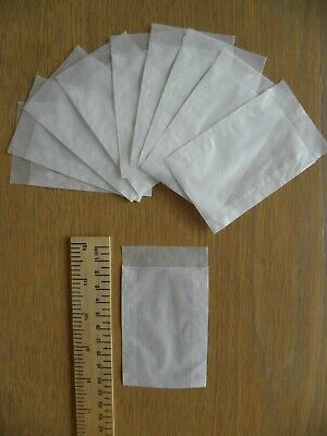 50 Lindner Glassine Stamp Bags, 93mm x 63mm, new