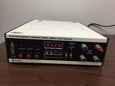 Pharmacia ECPS 3000/150 Lab Electrophoresis Constant Power Supply