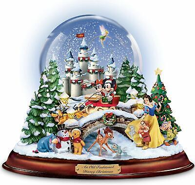 AN OLD FASHIONED CHRISTMAS Musical SnowGlobe