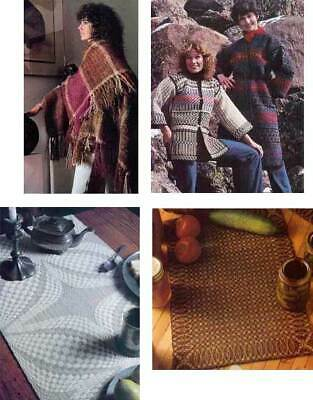 Handwoven magazine fall/winter 1980: coverlet,rigid heddle curtain, jackets +