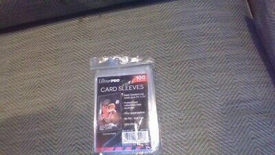 100 Ultra PRO Standard Size Soft Card Sleeves ~ Sports ~ Trading ~ Gaming Cards