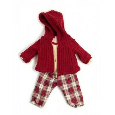 Miniland Doll Clothing - Red Trousers Set 38-42cm