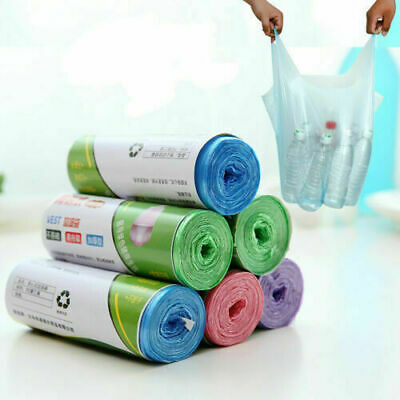 Scented Swing Bin Liners Bags Fragrance Refuse Waste Sack Multi Colour