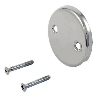 Delta RP31556 Overflow Plate and Screws - Chrome