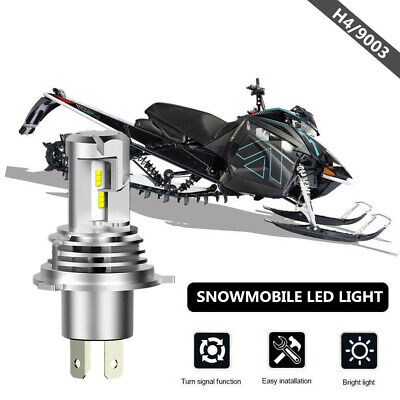 M 8000 Snowmobile Sixty61 LED Headlight Bulb for Arctic Cat M8000 2014-2019 35W CREE White High Power