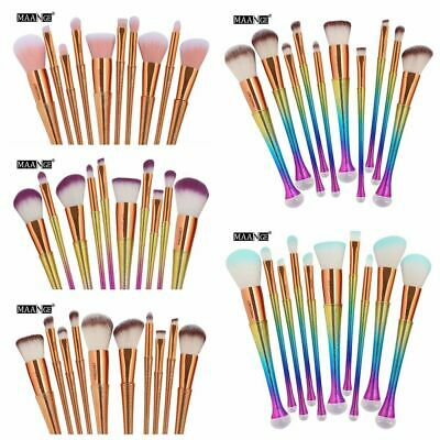 Accessories Makeup Brushes Set Contour Concealer Eyeshadow Blush Cosmetic Tool