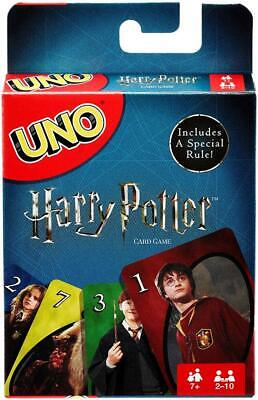 Mattel Games UNO Harry Potter Theme Card Game Special Rule New Free Shipping